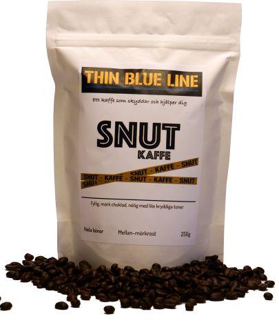 Snutkaffe hela bönor, 250 gram