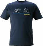 T-shirt Thin Blue Line Tjuv & Polis