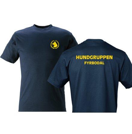 T-shirt bomull HUNDFÖRARE FYRBODAL