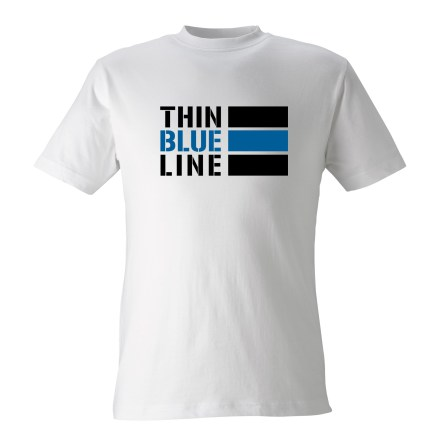 T-shirt Thin Blue Line INT VIT