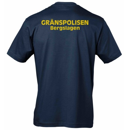 T-shirt bomull GRÄNSPOLISEN BERGSLAGEN