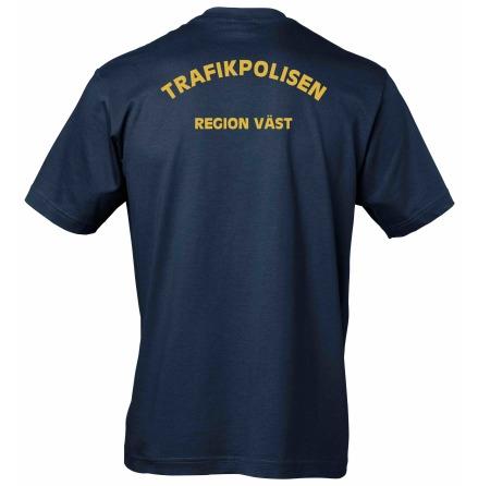 T-shirt bomull TRAFIKPOLIS REGION VÄST