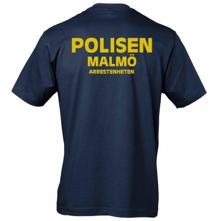 T-shirt bomull Arresten Malmlö