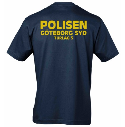 T-shirt bomull GÖTEBORG SYD TUR 5