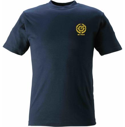 T-shirt bomull MC POLIS