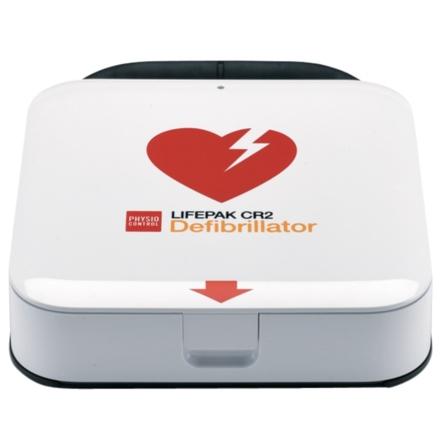 Hjärtstartare Lifepak CR2 Wi-Fi + två språk