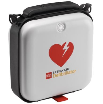 Hjärtstartare Lifepak CR2 Wi-Fi inkl väska + två språk