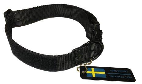 Hundhalsband svart